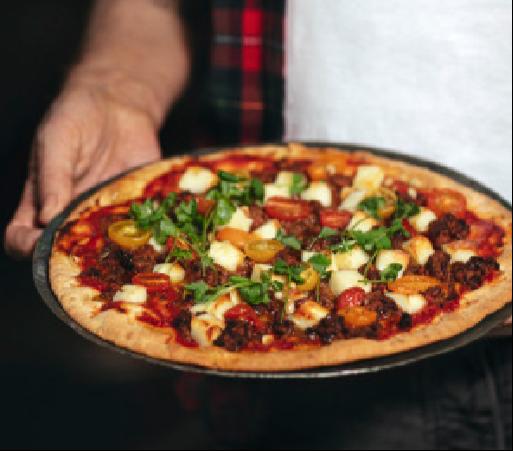Grilloumi Pizza