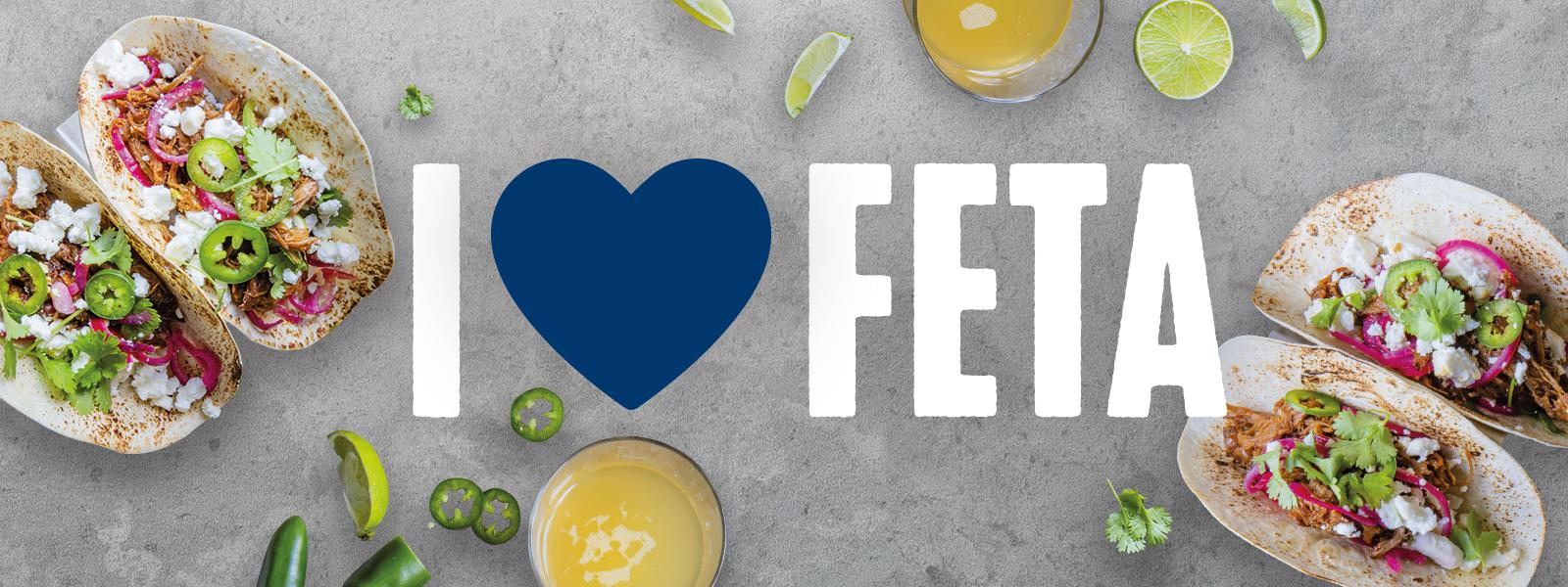 I love feta hero bild