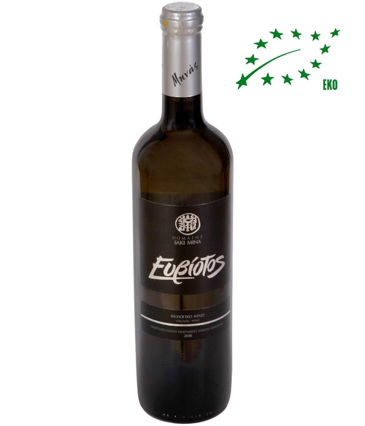Eviotos Sauvignon Blanc Eko 750 ml Vitt Vin