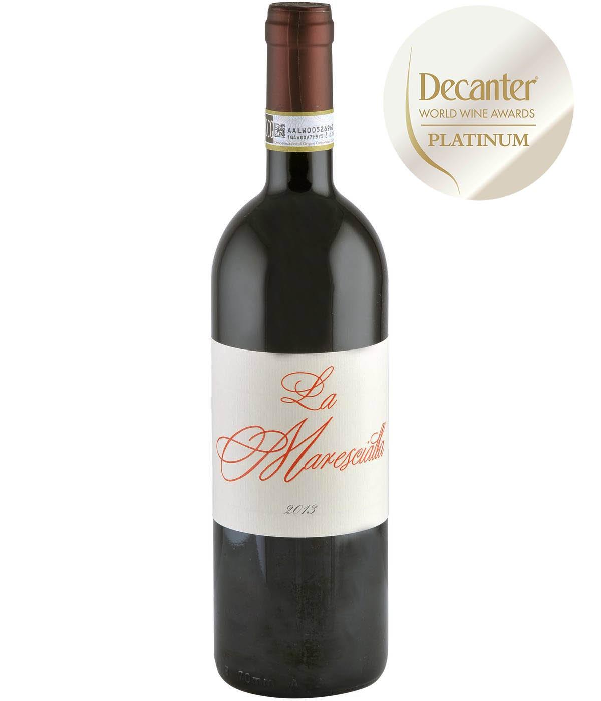 Barbera Dasti Superiore La Marescialla 750 ml Rött Vin