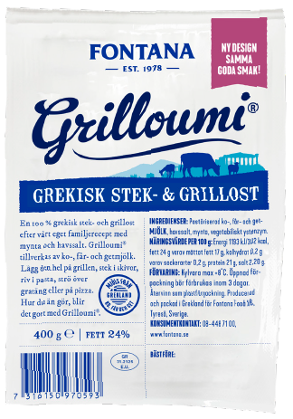 Grilloumi Grekisk Stek & Grillost