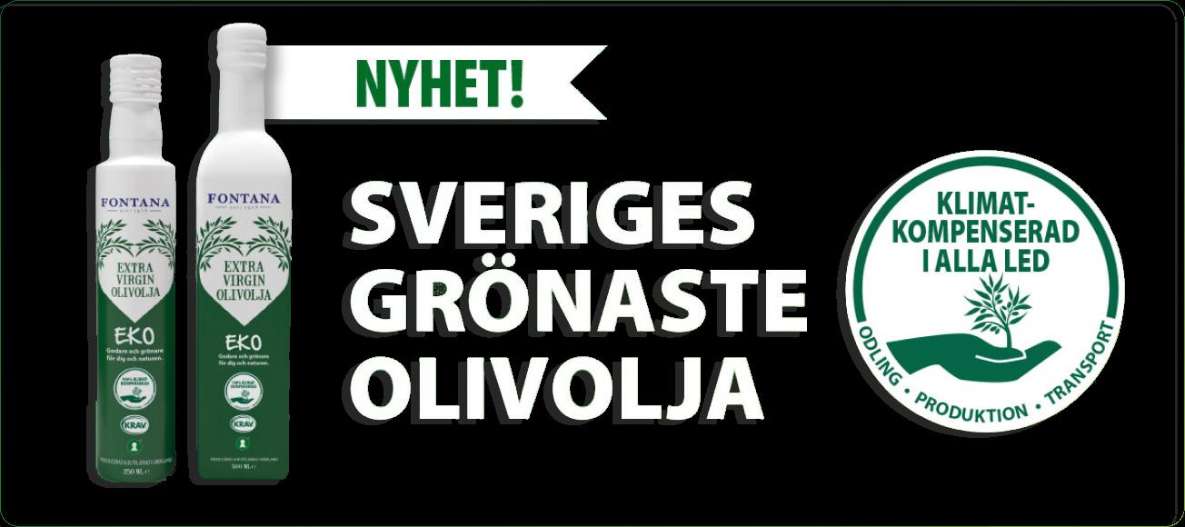 Sveriges grönaste olivolja