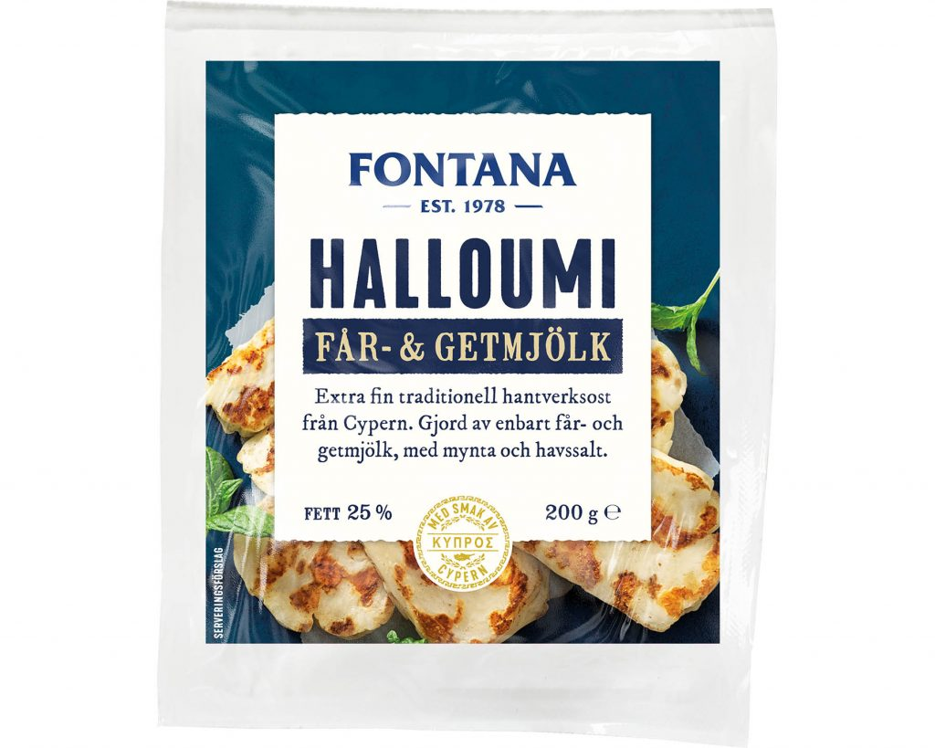 Fontana Halloumi Får - & Getmjölk