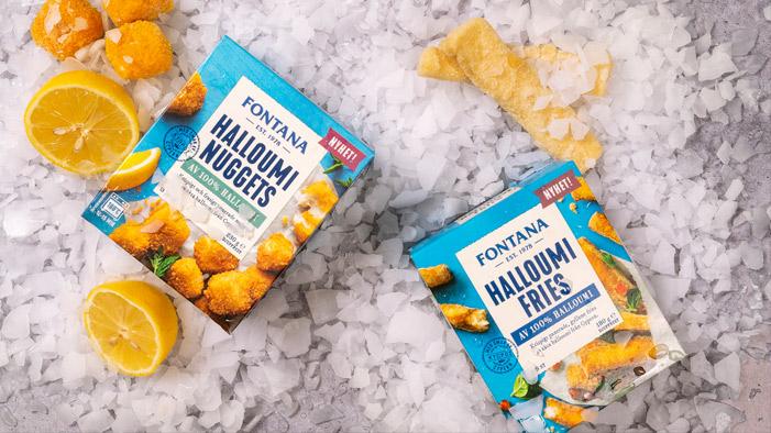 Fontana Halloumi Fries & Nuggets