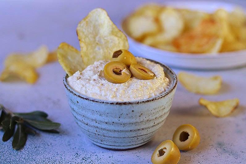 Olivdipp recept från Fontana