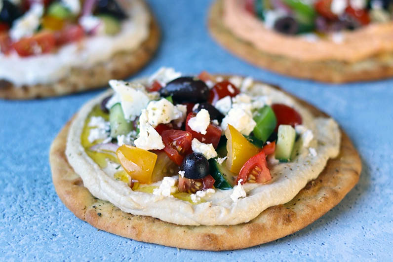 Grekisk Pizza Recept